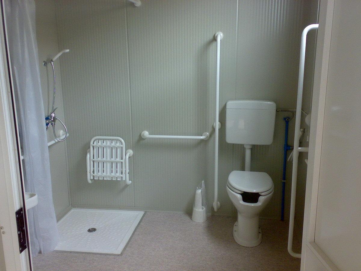 Servizi igienici per disabili prefabbricati bagni for Servizi bagno